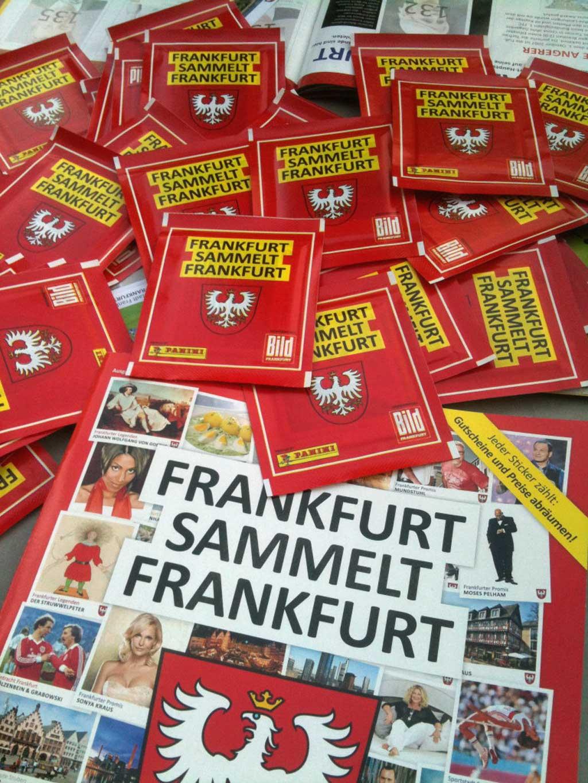 Panini Sammelalbum Frankfurt sammelt Frankfurt