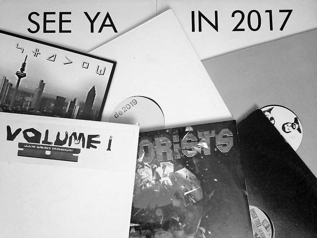 PCP-, Dance Ecstasy-, White Breaks- und Interzone-Schallplatten