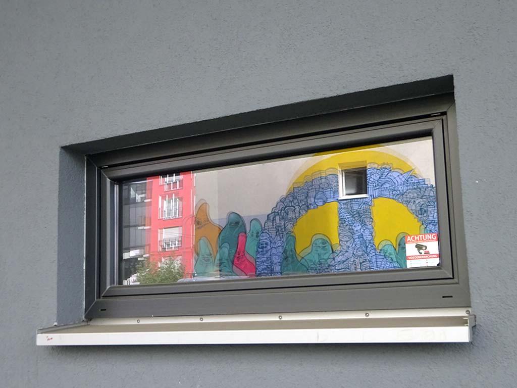 Peace und Cityghosts Streetart