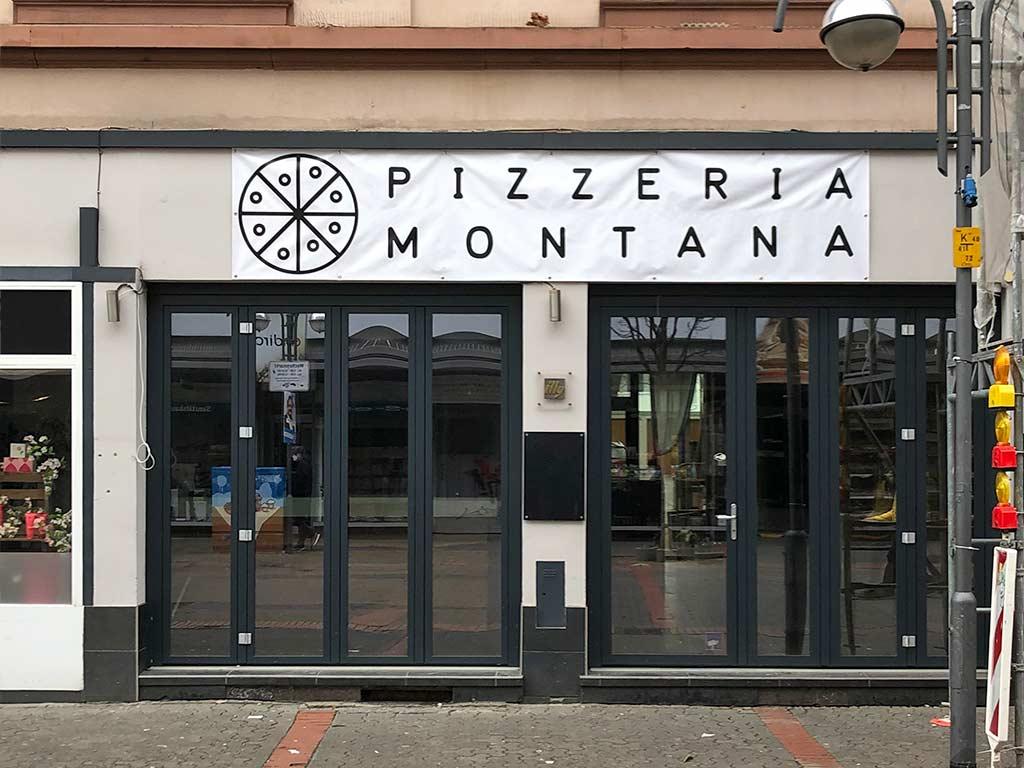 Pizzeria Montana in der Berger Straße
