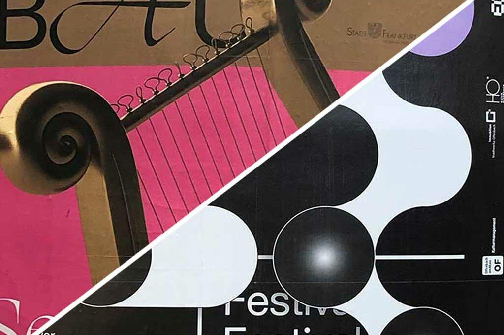 Plakatdesign in Frankfurt