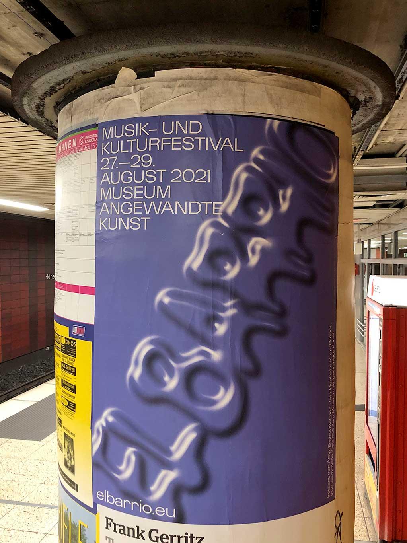 Plakatdesign in Frankfurt - Museum Angewandte Kunst | El Barrio