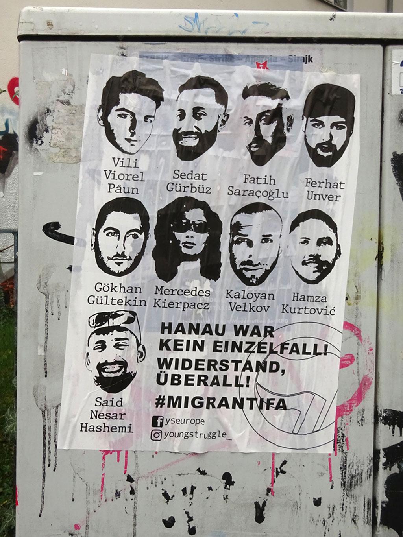 #Migrantifa - Hanau war kein Einzelfall