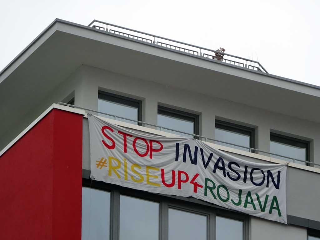 Stop Invasion #RiseUp4Rojava