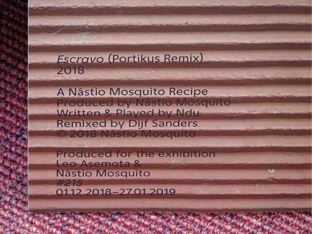 Portikus - Leo Asemota & Nastio Mosquito - #215