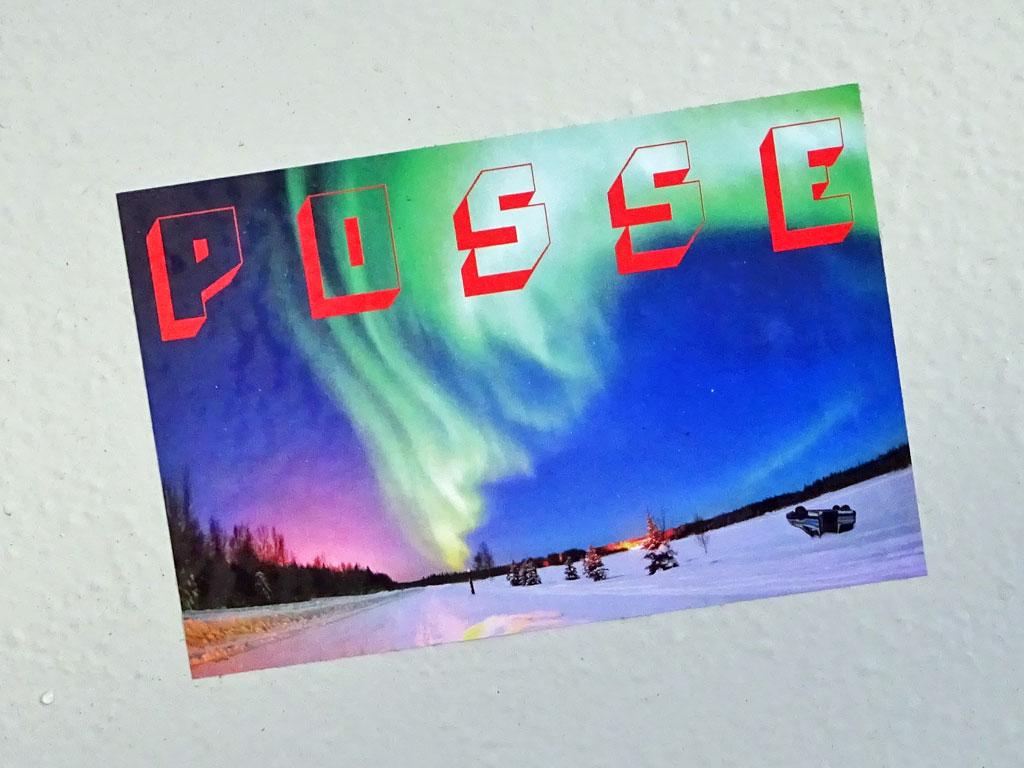Posse-Sticker