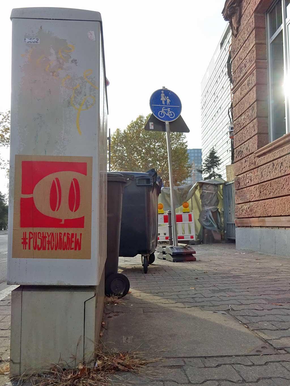 Push Your Crew in Frankfurt