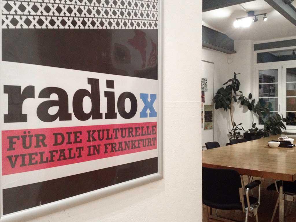 Radio X - Das werbefreie Stadtradio in Frankfurt