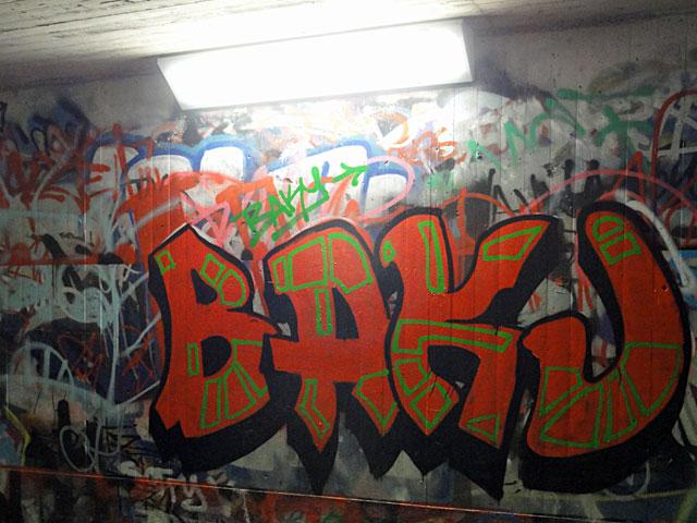 Ratswegkreisel-Graffiti