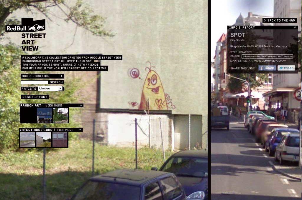 "Red Bull ""Street Art View"" Maps"