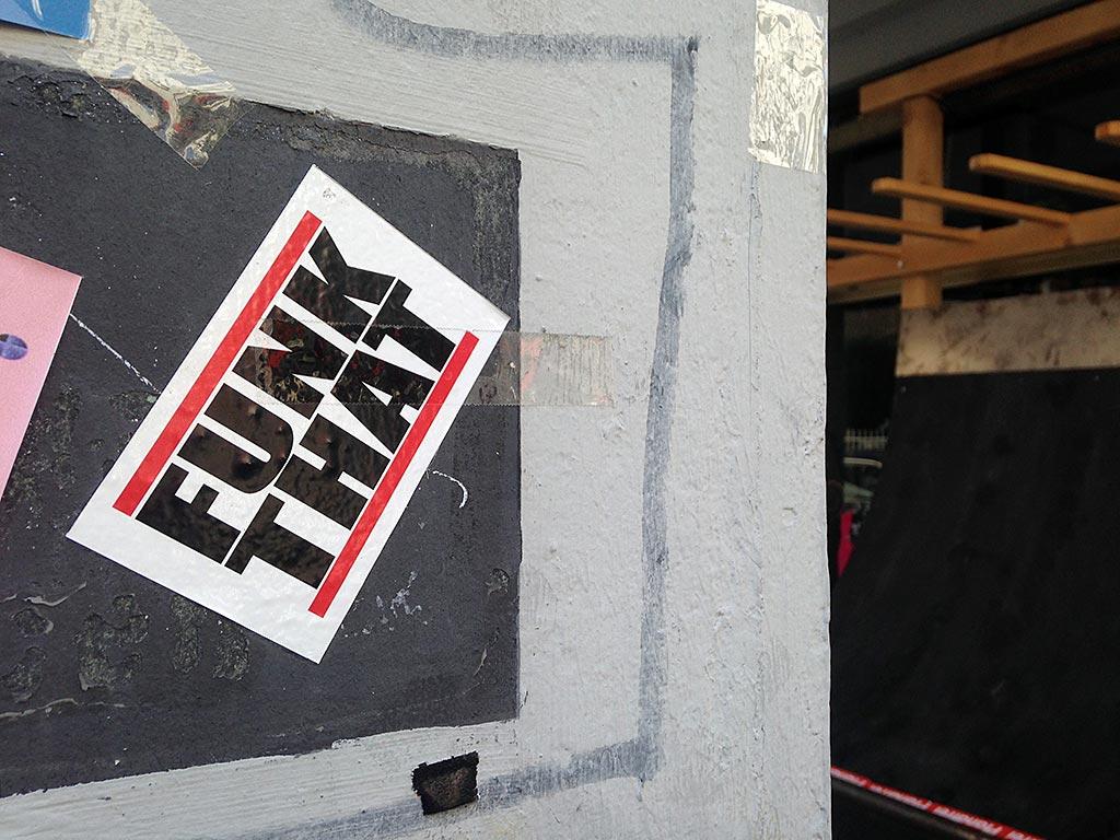 RUN DMC Logo-Variante FUNK THAT