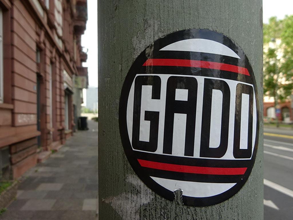 RUN DMC Logo-Variante GADO