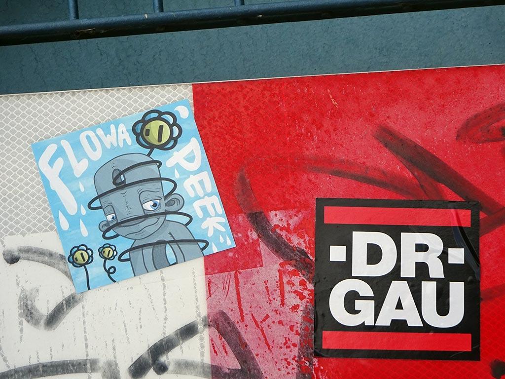 RUN DMC Logo-Variante DR GAU