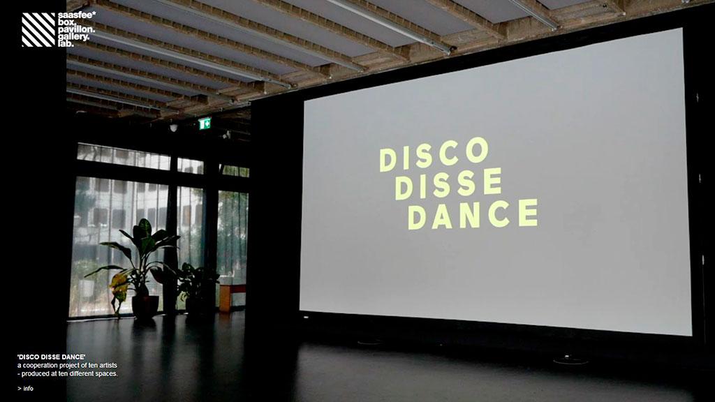 saasfee* pavillon - DISCO DISSE DANCE