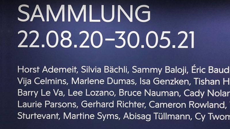 Ausstellung SAMMLUNG im TOWER MMK in Frankfurt am Main