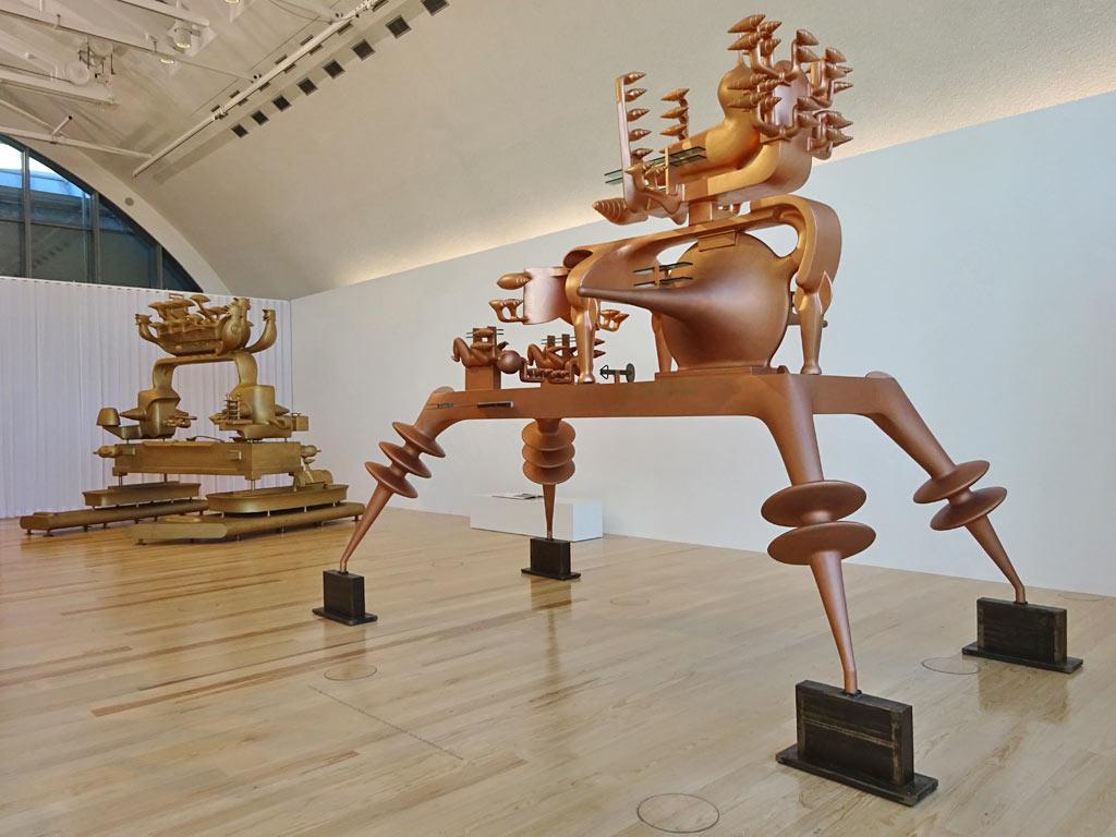 Schirn Kunsthalle Frankfurt - Gironcoli-Ausstellung