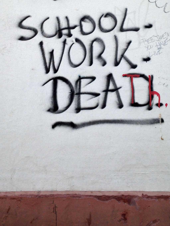 School Work Dead