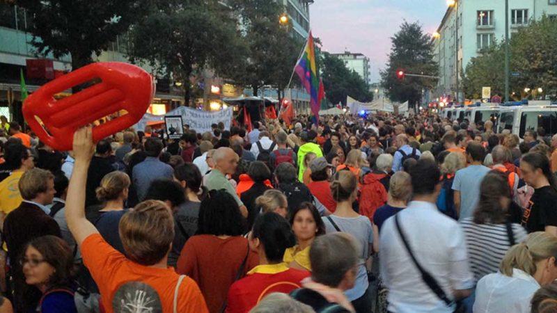 Sei kein Horst Demonstration in Frankfurt am Main