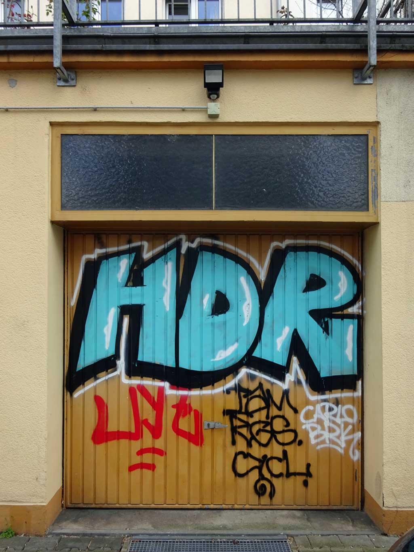 Shutter & Garage Door Graffiti