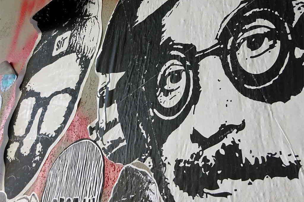 Levve un levve lasse - Streetart gegen Hass