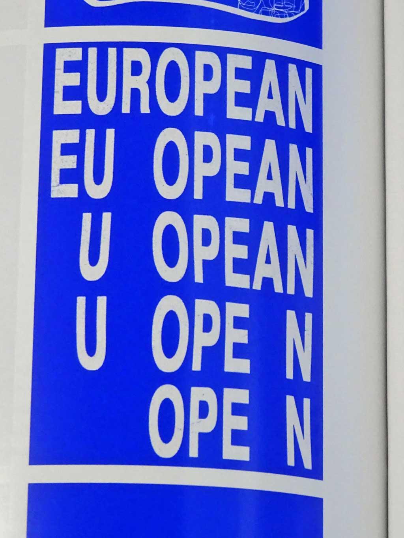 Slanted #34 - Europe - Werklig