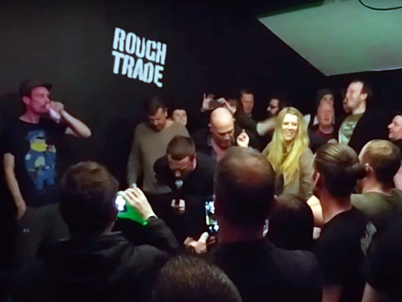 Sleaford Mods live at Rough Trade