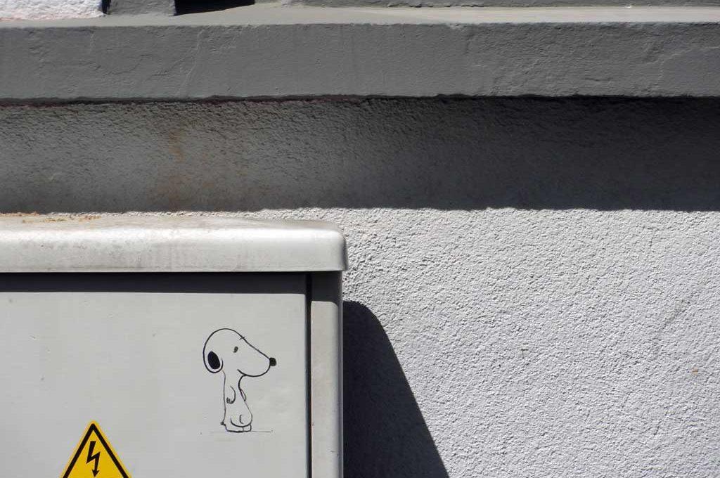 Snoopy Street Art