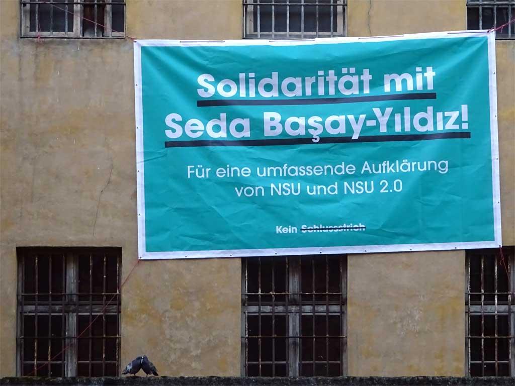 Solidarität mit Seda Basay-Yildiz