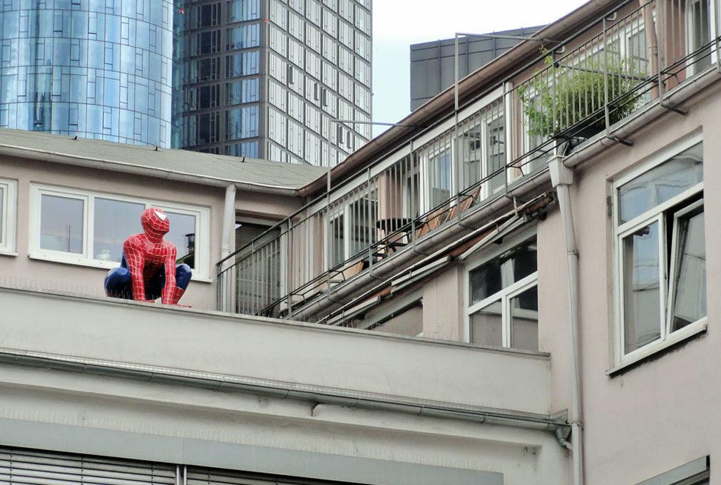 Spiderman in Frankfurt