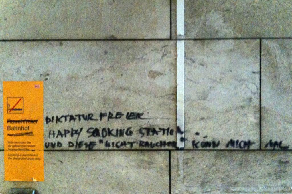 Diktaturfreier Bahnhof