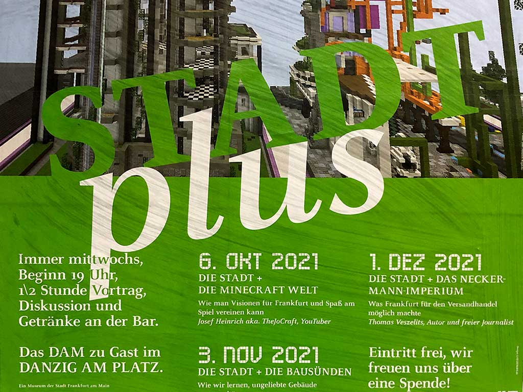 STADTplus im Danzig am Platz, von Oktober bis Dezember 2021