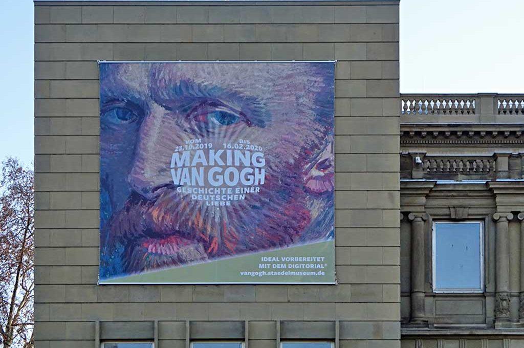 Making van Gogh - Ausstellung im Städel Museum in Frankfurt am Main
