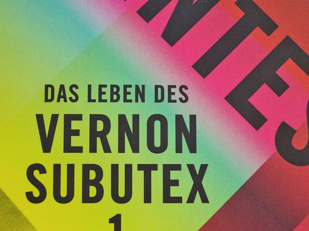 Stalburg Theater in Frankfurt spielt ab 2020 Vernon Subutex