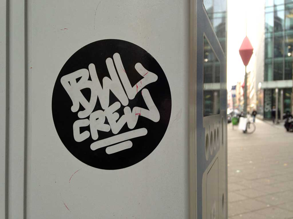 Sticker Art - BWL CREW