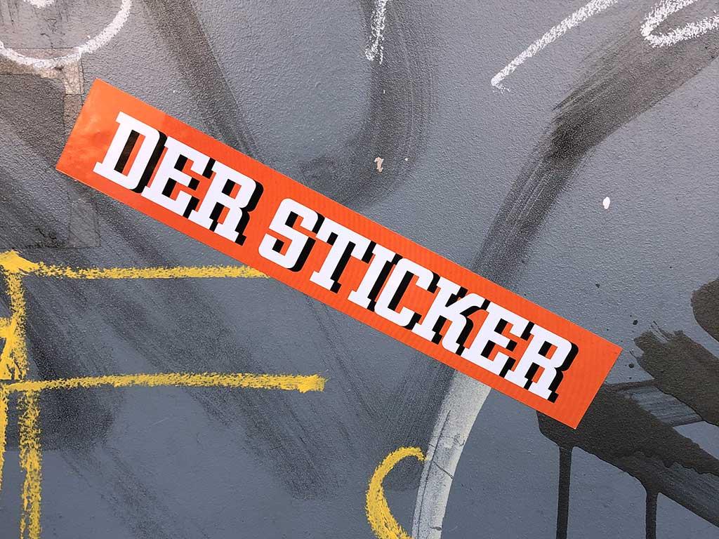 Sticker-Art Frankfurt