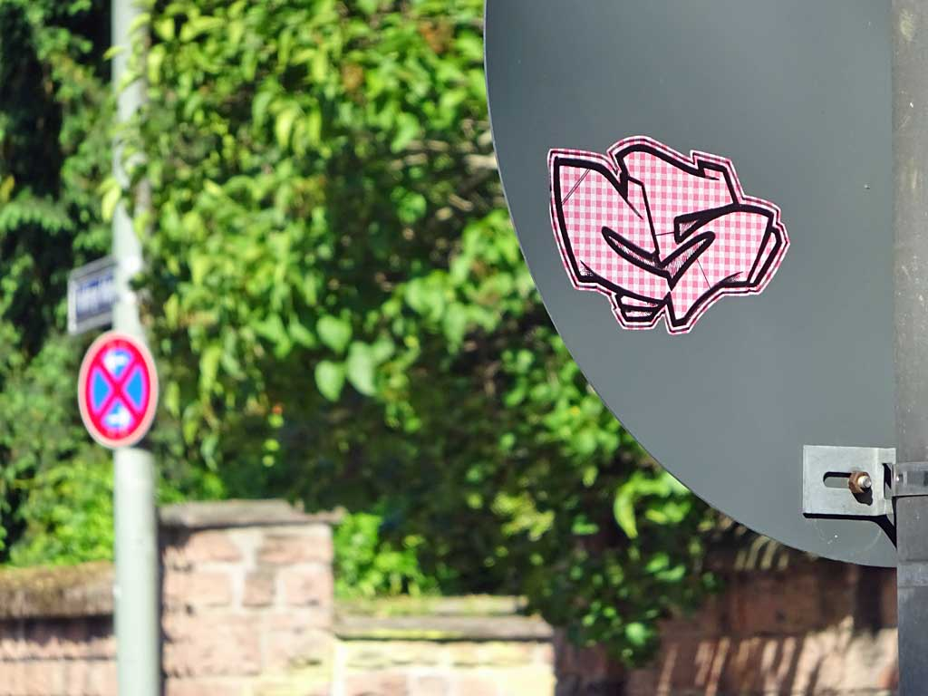 Streetart Sticker CS