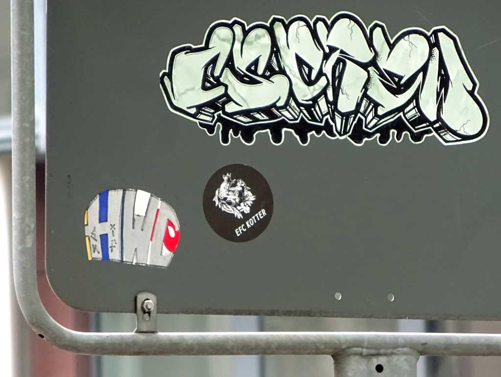 Streetart Sticker CS CREW
