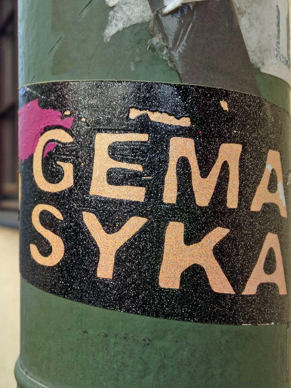 Gema, Syka