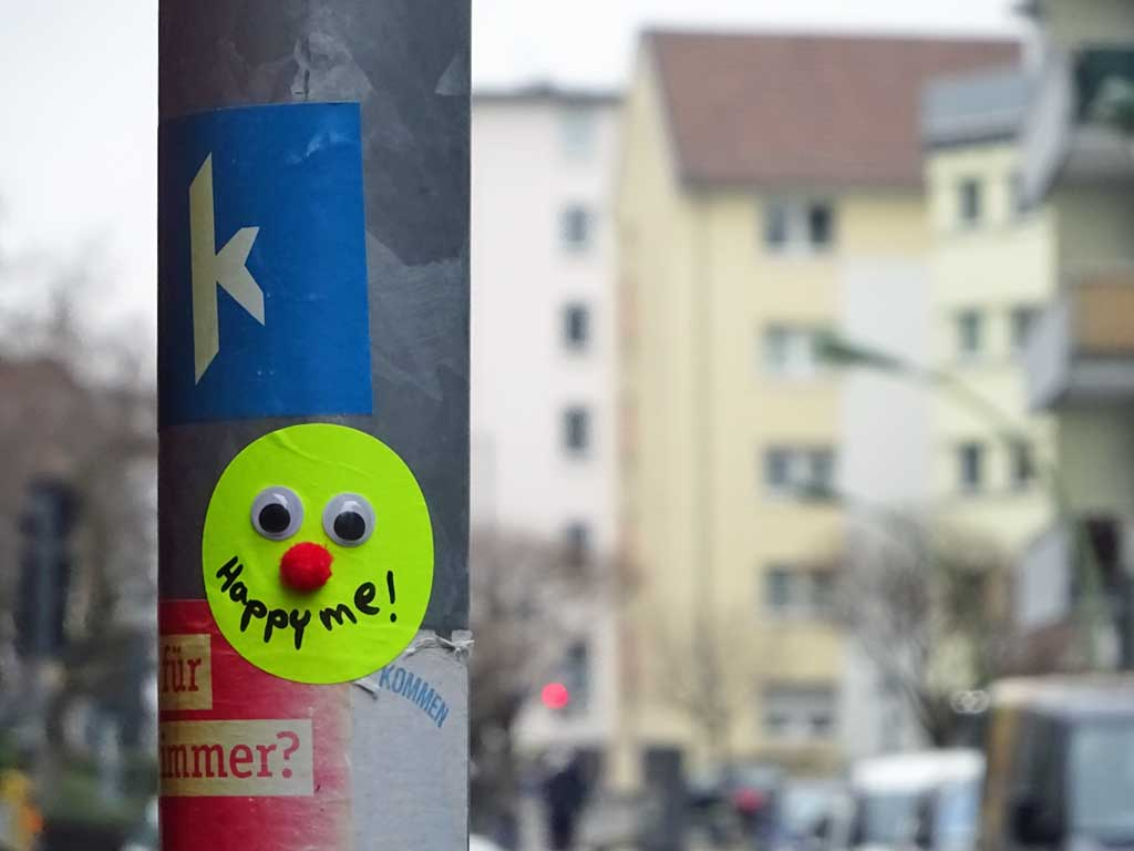Sticker Art - Happy me!