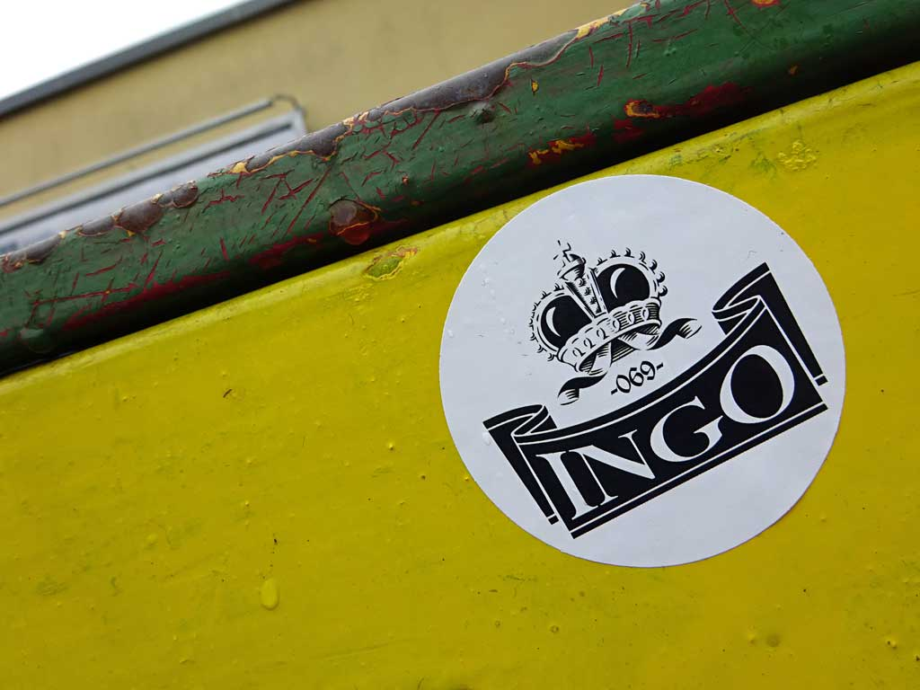 Sticker Art - INGO