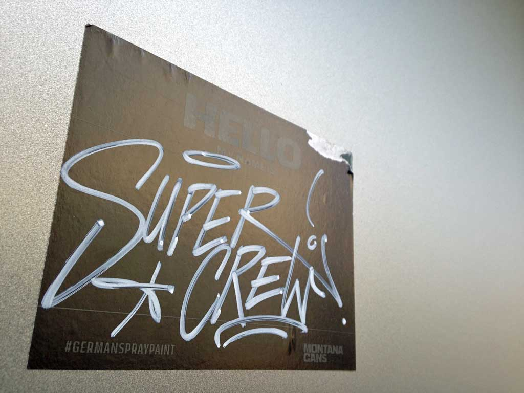 Sticker Art - Hello Super Crew