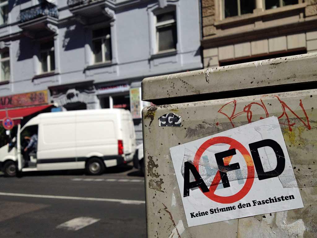 AFD - Keine Stimme den Faschisten