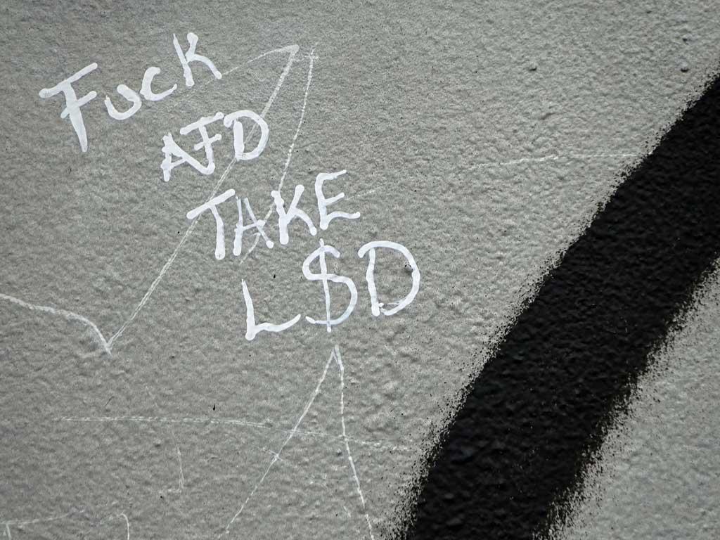 Fuck AfD Take LSD