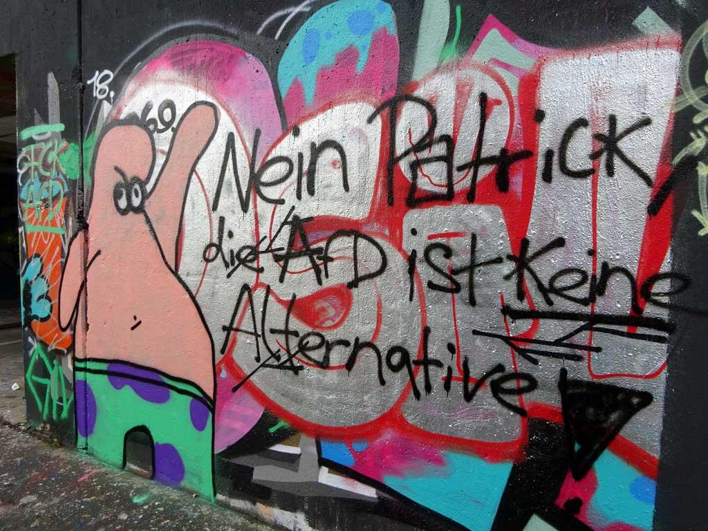Nein Patrick, die AfD ist keine Alternative