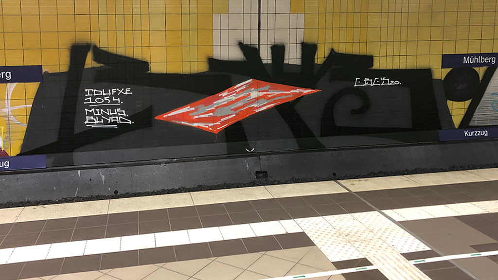 Subway Station Art