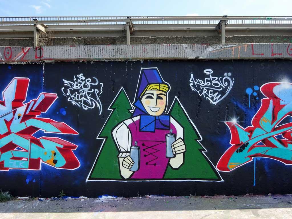 Tannenzäpfle Graffiti