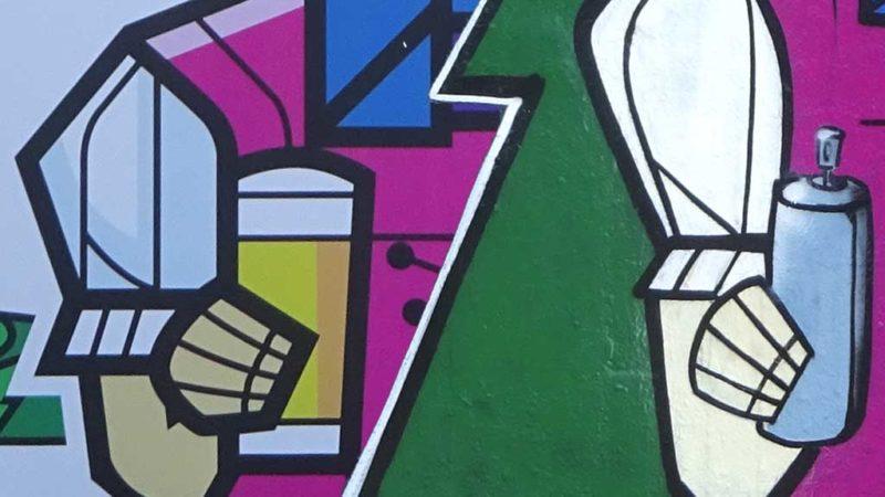Tannenzäpfle - Werbung und Graffiti