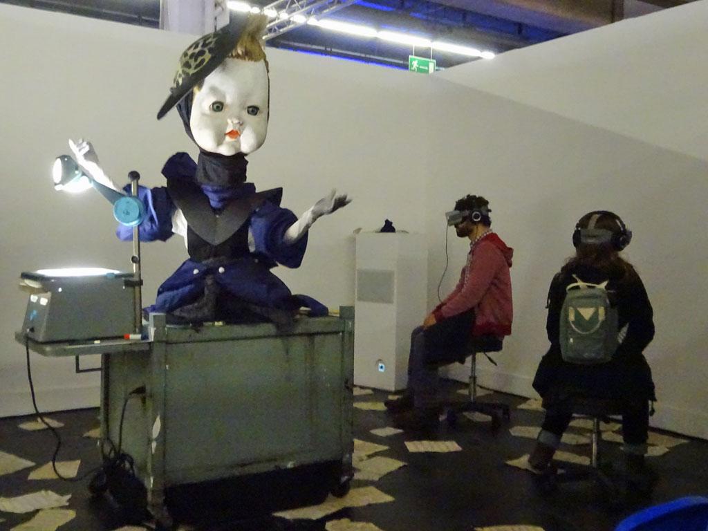 Frankfurter Buchmesse 2019 - The Arts - Gymnasia Installation