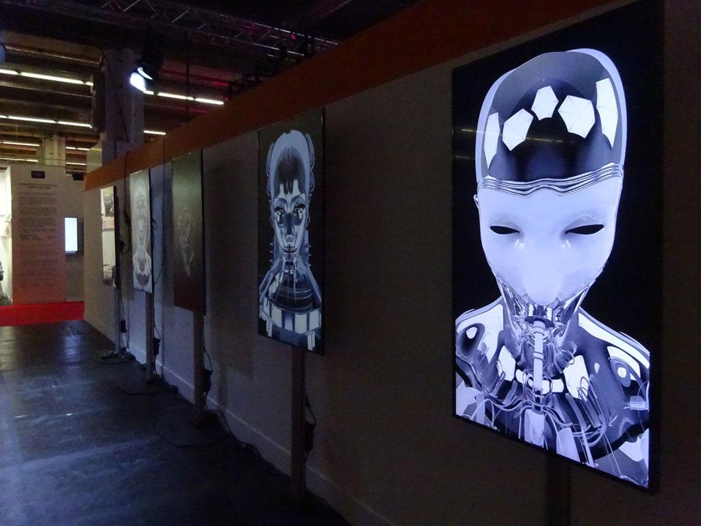 Frankfurter Buchmesse 2019 - The Arts - 5 Kanal Video Installation