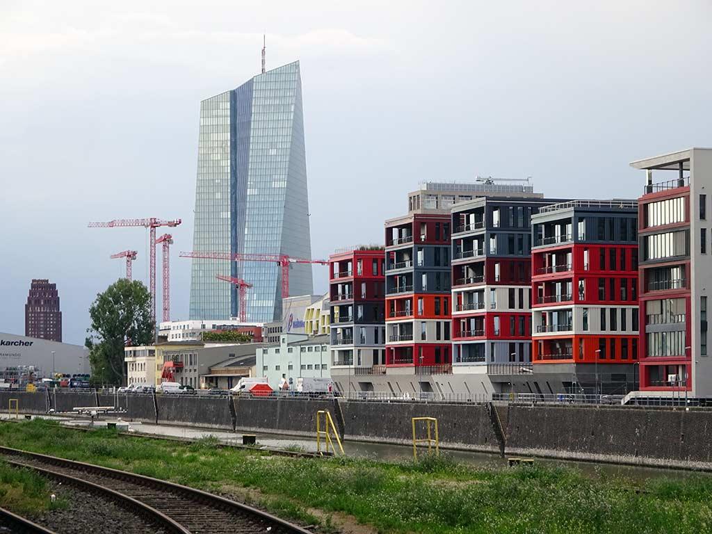 The Docks im Osthafen von Frankfurt am Main